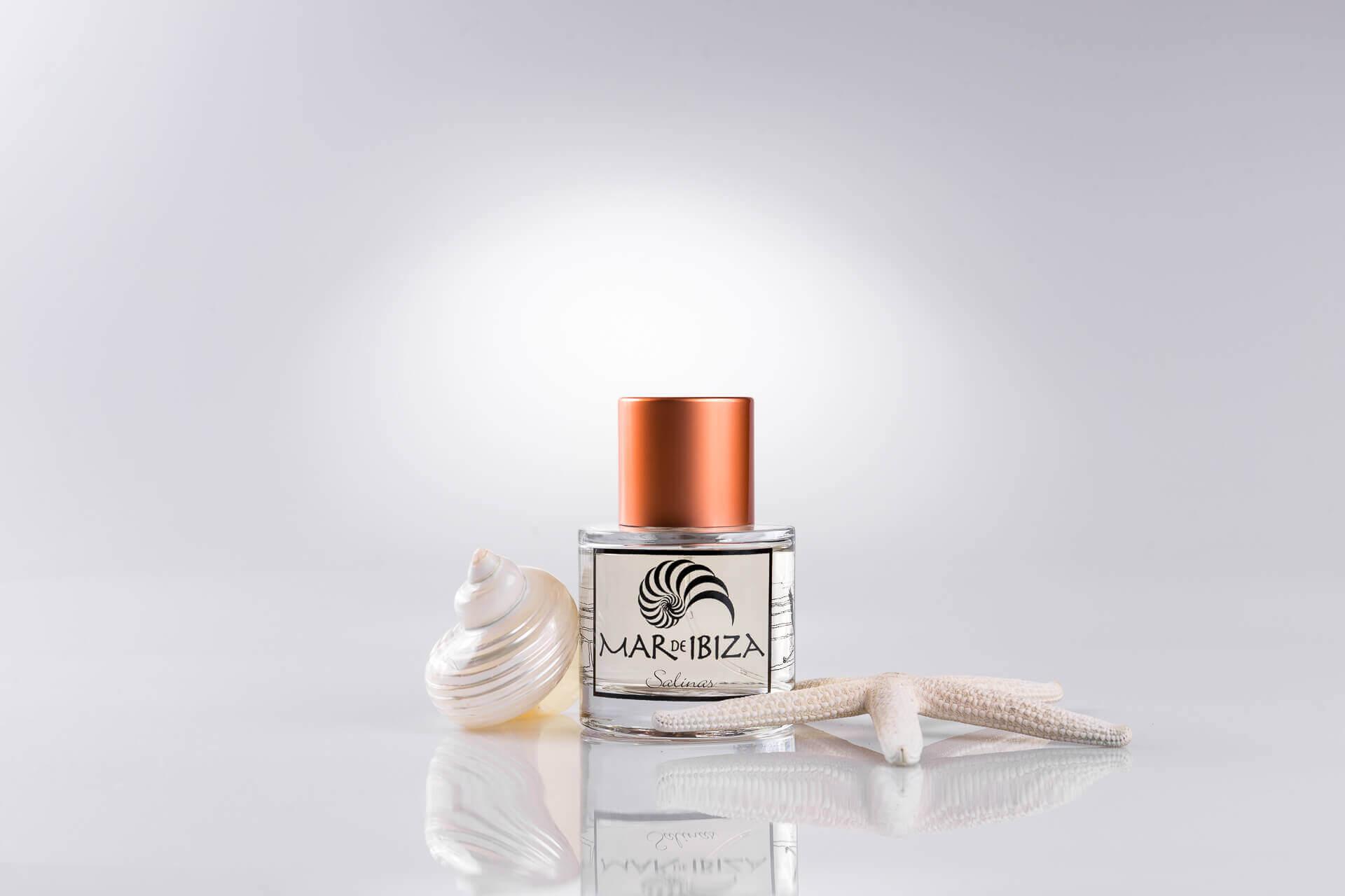 Fotografía de producto en Ibiza. Nueva línea de perfumes Mar de Ibiza