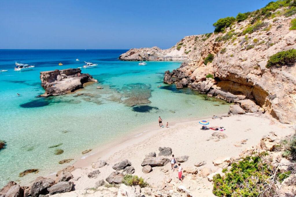 Localizaciones En Ibiza Cala Tarida